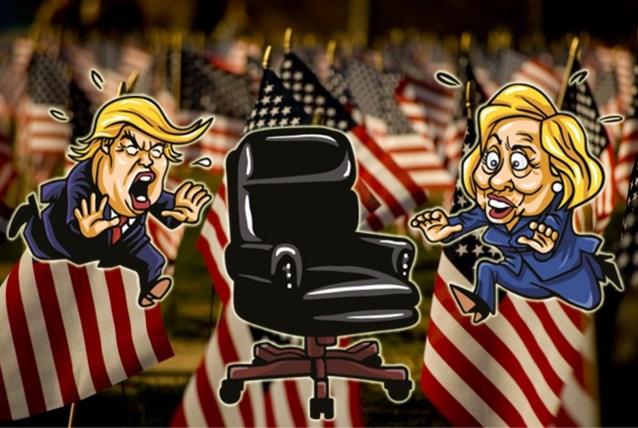 Zo verlopen de Amerikaanse verkiezingen