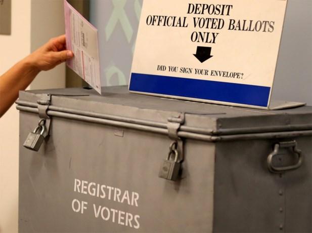 Record aan vervroegd stemmen