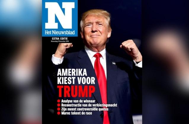 """""""Amerika kiest voor Trump"""": lees hier onze verkiezingskrant"""