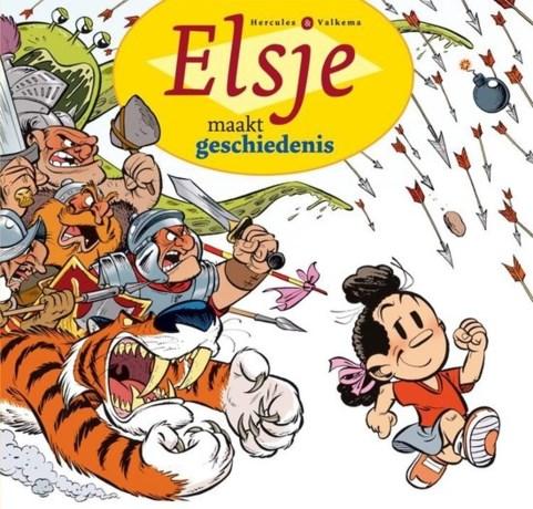 'Elsje maakt geschiedenis' wint Willy Vandersteenprijs