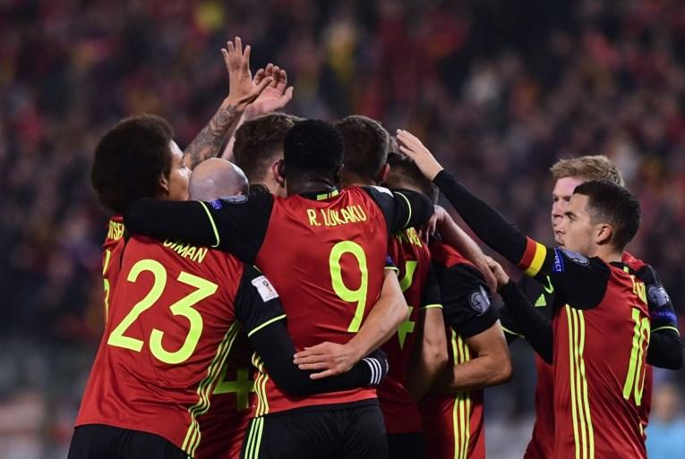 Hemels voetbal, acht doelpunten: Rode Duivels toveren zich voorbij Estland