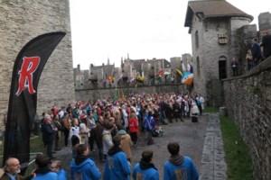 Studenten bezetten Gravensteen met hulp van Ridder Rodenbach