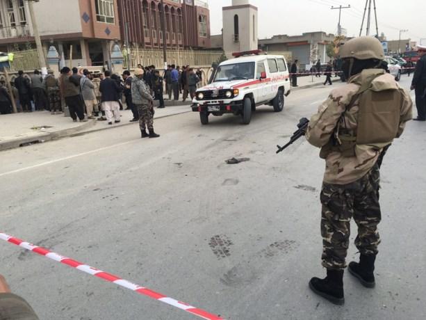 Minstens 8 doden bij zelfmoordaanslag bij moskee in Kaboel