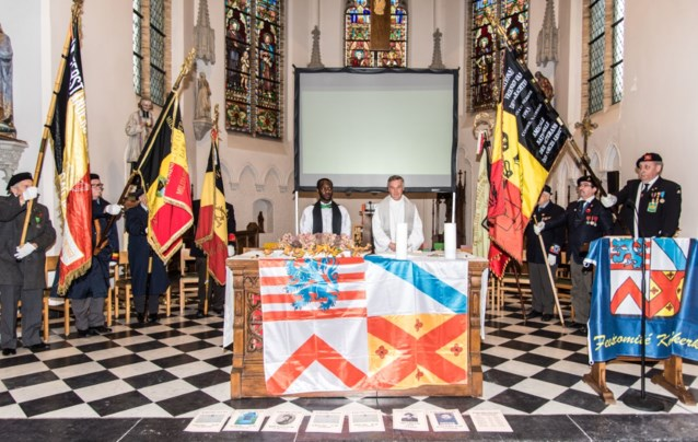 Vredesviering voor gesneuvelde Koolkerkse soldaten