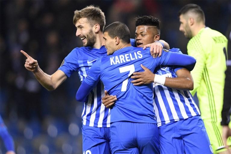 Genk zeker van overwintering in Europa League na zege tegen Rapid Wenen