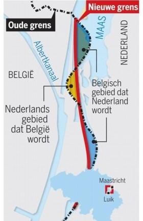 België geeft stukje grond aan Nederland na problemen met drugs en naaktloperij