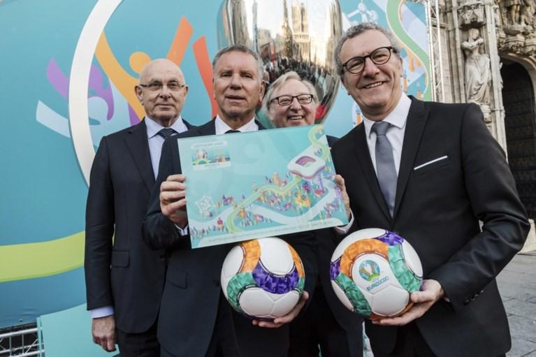 Nog geen stadion maar wel al een logo voor EK in Brussel