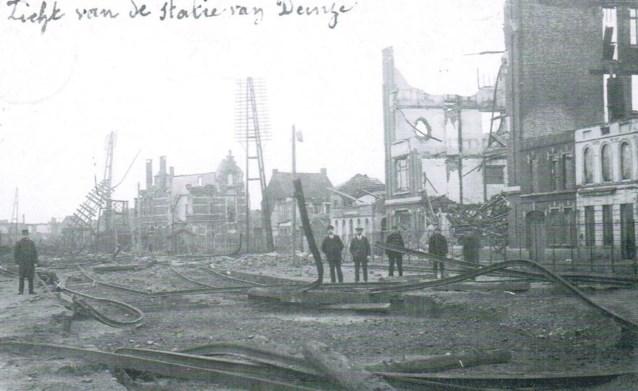 1 november 1918: toen Deinze een beetje Aleppo was