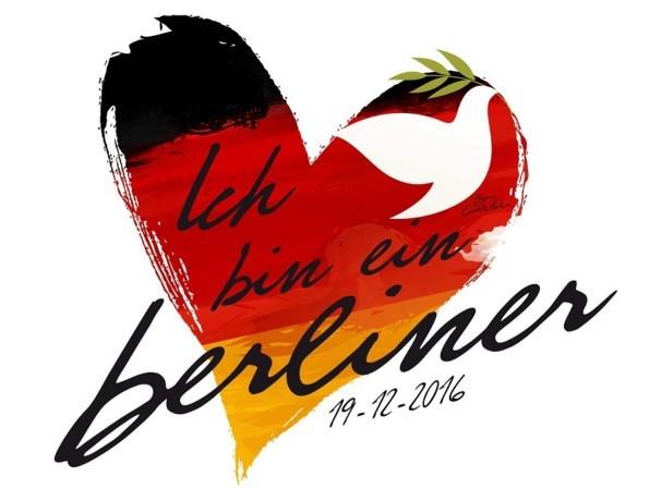 Hele wereld betuigt steun aan Berlijn