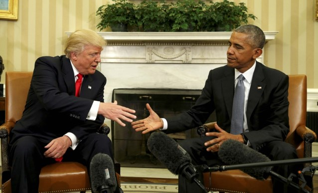 Donald Trump kan vliegende start maken als president... met dank aan Barack Obama