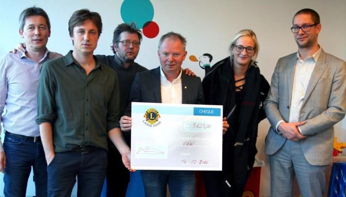 Lions Asse  steunen CAW Halle-Vilvoorde