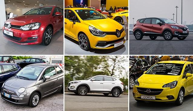 OVERZICHT. Dit zijn de best verkochte auto's in ons land