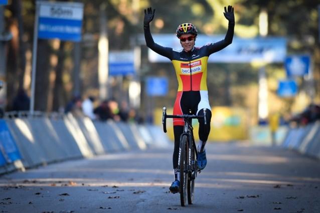 Sanne Cant klopt Marianne Vos en pakt in Loenhout 14e seizoenszege
