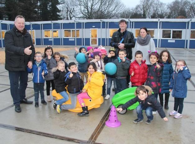 Nieuwe kleuterschool gehuurd voor 32 maanden