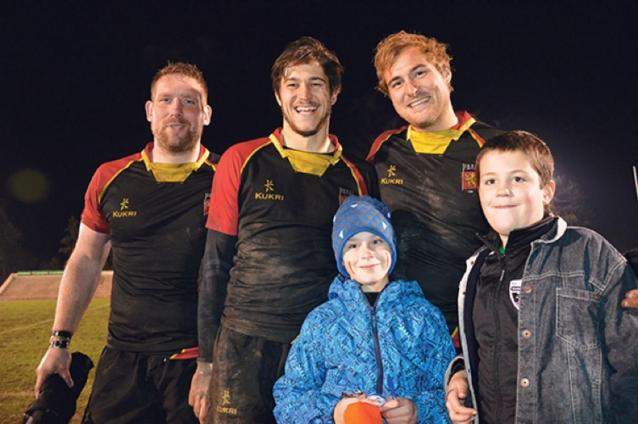 Rugbyspeler Nicolas Meeus blikt vooruit