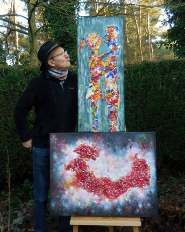 Karel Van Camp stelt tentoon