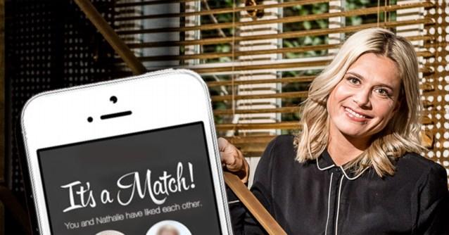 Nathalie Meskens: enkele maanden single, nu al op Tinder?