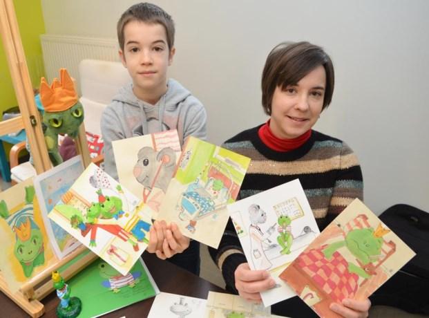 """Ouders overleden peutertje: """"We zijn blij dat Casje voortleeft in kinderboek en kikkerknuffel"""""""