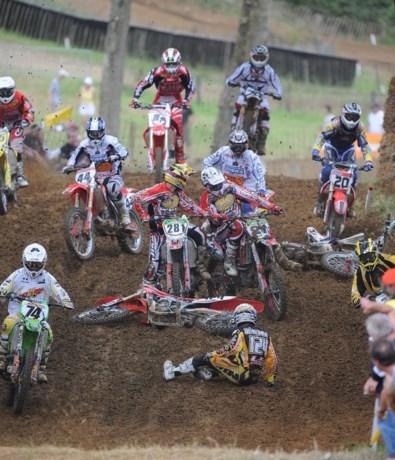 Motorcross ruilt ene deelgemeente voor de andere