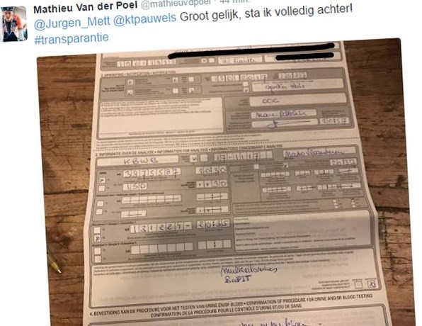 """Van Aert wil niet meedoen aan """"spelletjes Van der Poel en Pauwels"""""""