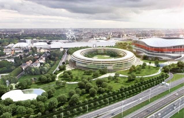Gemeenteraad Grimbergen vindt geen meerderheid voor afschaffing buurtweg Parking C Eurostadion