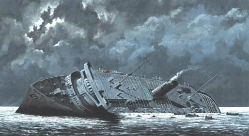 Hoe een aantal foute beslissingen en één 'juiste' tot de grootste scheepsramp in de geschiedenis hebben geleid