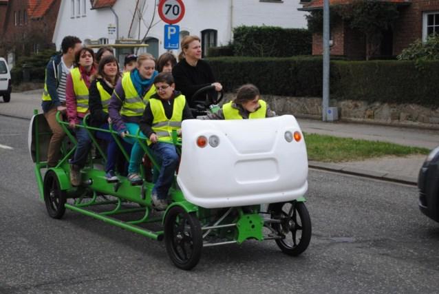 Rijdt de fietsbus straks ook door de Aalsterse straten?
