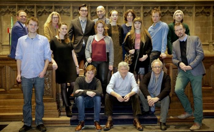 Cultuurlaureaten gehuldigd op stadhuis