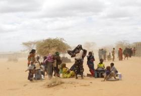 """11 miljoen mensen lopen gevaar: """"Het is zo droog dat zelfs kamelen sterven"""""""