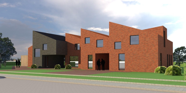 Kerkfabriek Sint-Macharius bouwt vijf sociale woningen in Laarne