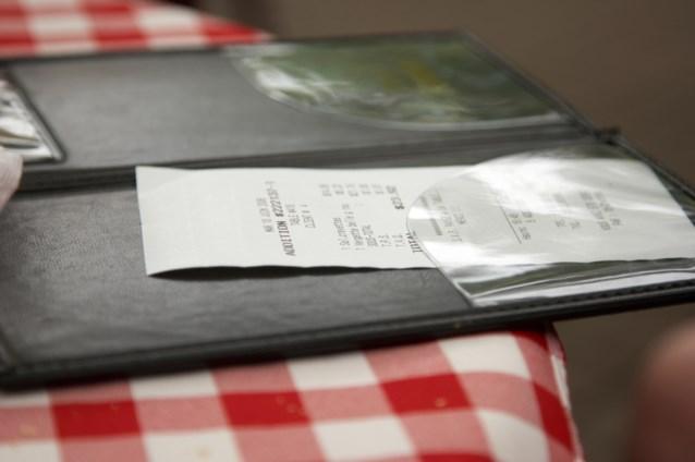 Eén rekening per tafel, één kaart per rekening: mag dat wel?