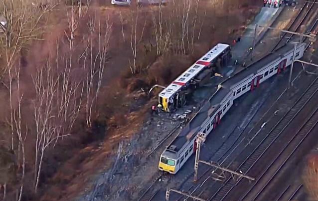Dit zijn de drie mogelijke oorzaken van het treinongeval in Leuven