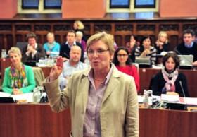 De vrouw die de nieuwe burgemeester van Gent wil worden