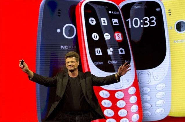 Nokia 3310 er weer: lichter, kleurrijker en met een batterijduur van één maand