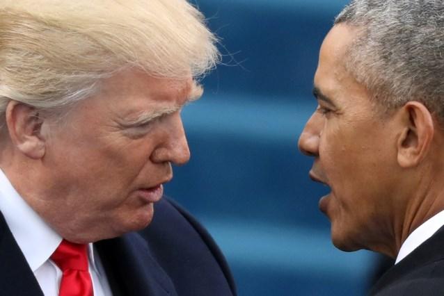 """Obama ontkent beschuldiging van Trump: """"Geen enkele president kan een telefoontap doen"""""""