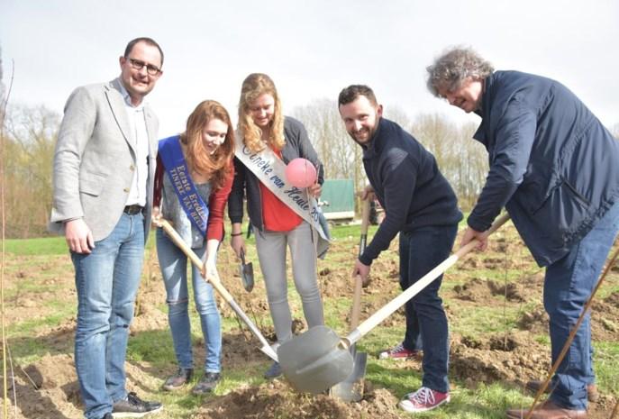Eerste 1.000 bomen Tinekesbos geplant