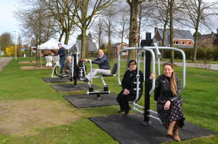 Sportzone pronkt met vier openbare fitnesstoestellen