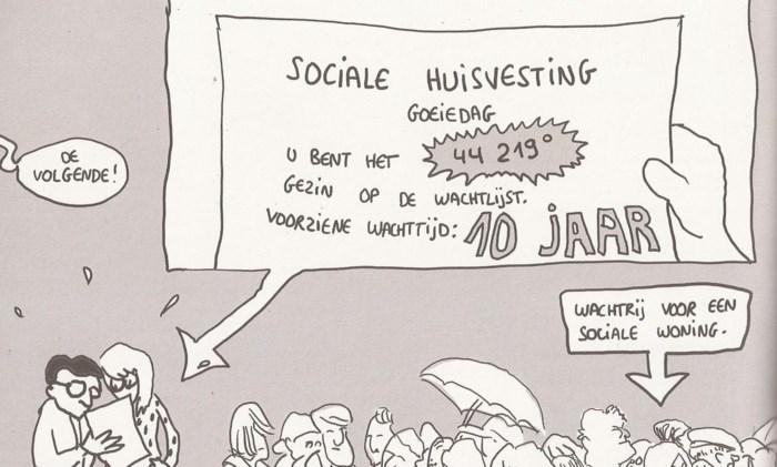 Stripboek focust op tekort sociale woningen