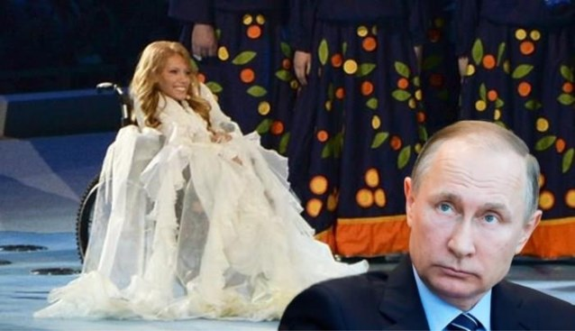 Eurosong-kandidate Rusland mag niet deelnemen aan het festival. En dat vindt Poetin wellicht geweldig