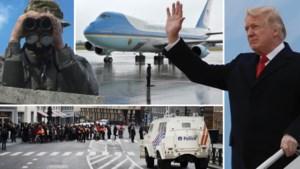 Donald Trump komt naar België: zo zal u het merken