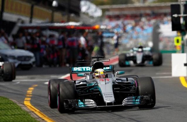 Hamilton verovert polepositie GP van Australië, Vandoorne kent opnieuw pech