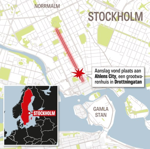 OVERZICHT. Dit weten we al over de aanslag in Zweden