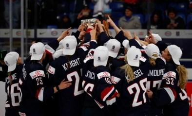 Amerikaanse ijshockeyvrouwen verlengen hun wereldtitel na zege tegen aartsrivaal