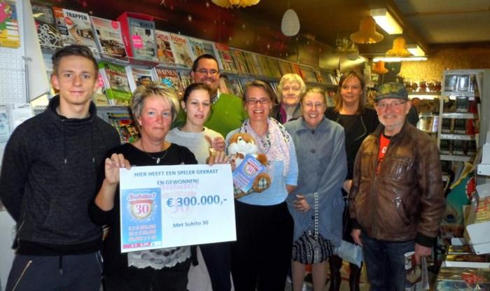 Jackpot van 300.000 euro dankzij Subito-kraslot