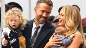Hier hield Ryan Reynolds zich mee bezig terwijl Blake Lively moest bevallen