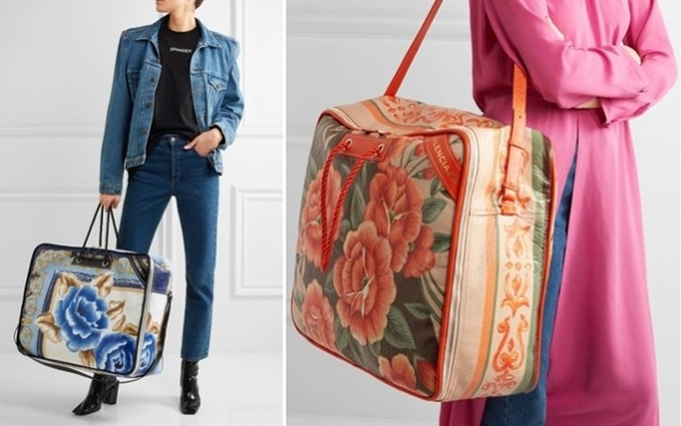 Nieuwe handtas van luxemerk is kopie van... een Ikea-zak