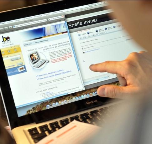 """Aangifte via Tax-on-web verder vereenvoudigd: """"Minder dan 5 minuten volstaan"""""""