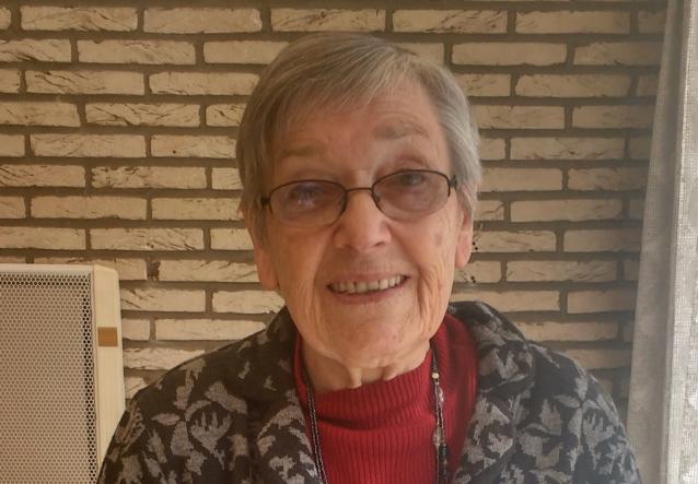 Mariette Costermans (84) uit Kersbeek vult haar leven met vrijwilligerswerk
