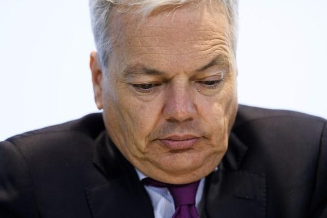Volgens Groen had Reynders bijna hele werkdag tijd om over stem voor Saudi-Arabië te beslissen