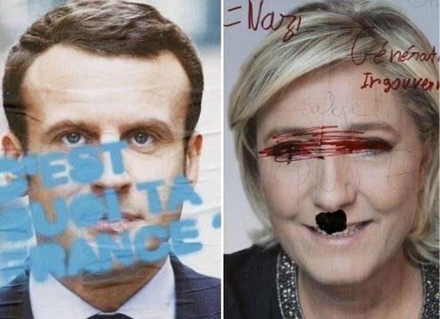 Macron dient klacht in tegen onbekenden na 'verspreiden van valse geruchten'